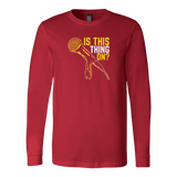 Is This Thing On? Long Sleeve T-Shirt