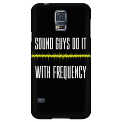 Sound Guys Do It With Frequency - iPhone Android Phone Case
