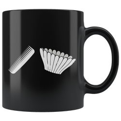 Comb Filter Coffee Mug