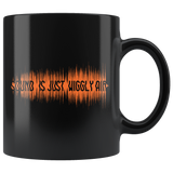 Sound Is Just Wiggly Air Mug