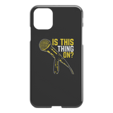 Is This Thing On? iPhone Cell Phone Case