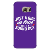 Just A Girl In Love With A Sound Guy iPhone Android Phone Case