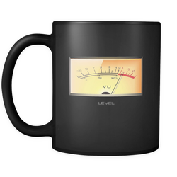 VU Meter Audio Coffee Mug