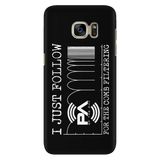 I Just Follow PA of the Day for the Comb Filtering iPhone Android Cell Phone Case