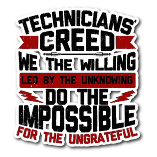 Technicians' Creed