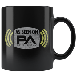 As Seen On PA of the Day - Exclusive Contributor Mug