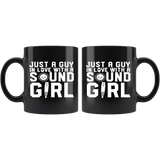 Just A Guy In Love With A Sound Girl Coffee Mug