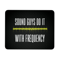 Sound Guys Do It With Frequency Mouse Pad