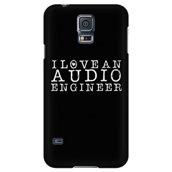 I Love An Audio Engineer iPhone Android Cell Phone Case