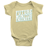 Future Monitor Engineer Kids Onesie and Tees
