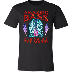 Amazing Bass (Guitar) How Sweet The Sound Short Sleeve T-Shirt