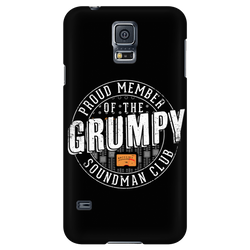 Proud Member of the Grumpy Soundman Club - iPhone Android Phone Case
