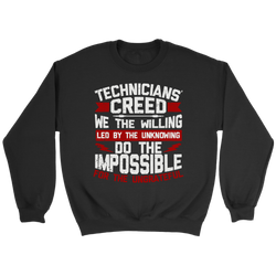 Technicians' Creed Sweatshirt