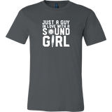 Just A Guy In Love With A Sound Girl Short Sleeve T-Shirt