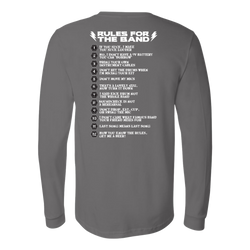Rules For The Band Long Sleeve Shirt