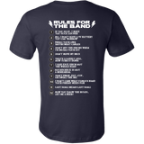 Rules For the Band Short Sleeve T-Shirt