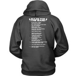 Rules For The Band Unisex Hoodie