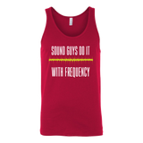 Sound Guys Do It With Frequency Tank Top
