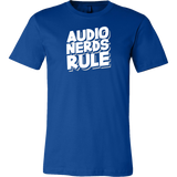 Audio Nerds Rule Short Sleeve T-Shirt