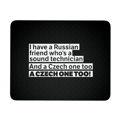 Czech One Too Mouse Pad