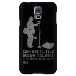 Can I Get A Little More Talent In My Monitor, Please? - iPhone Android Phone Case