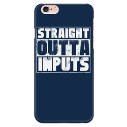 Straight Outta Inputs iPhone Phone Case