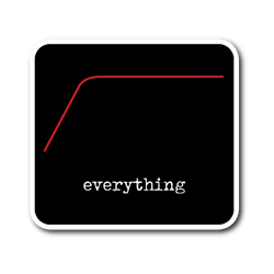 High Pass Everything - Sticker