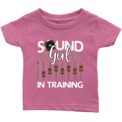 Sound Girl In Training Kids Onesie and Tees
