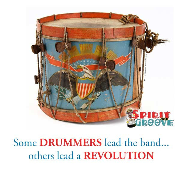 Spirit and Groove Fourth of July Drum Meme