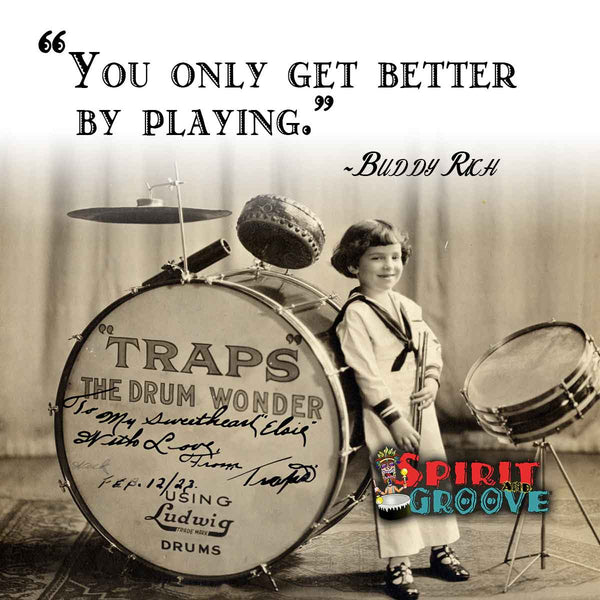 Buddy Rich Traps Drum Meme by Spirit and Groove