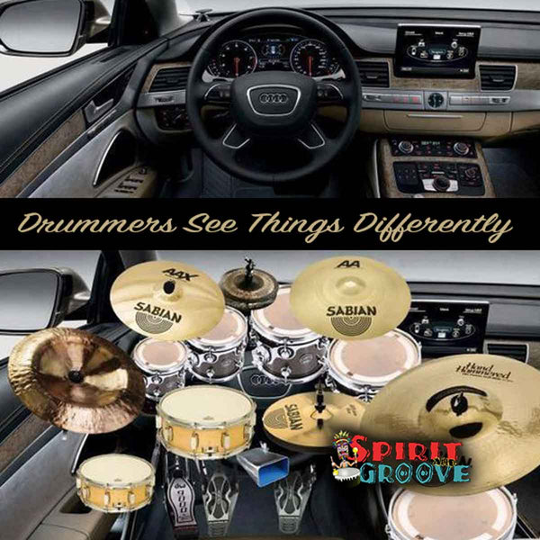 Drummer's View in the Car by Spirit and Groove