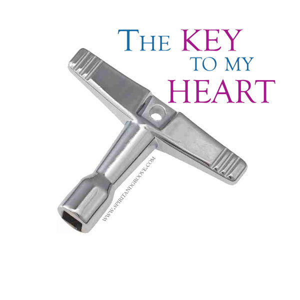 The Drum Key to My Heart -Drum Meme Monday by Spirit and Groove