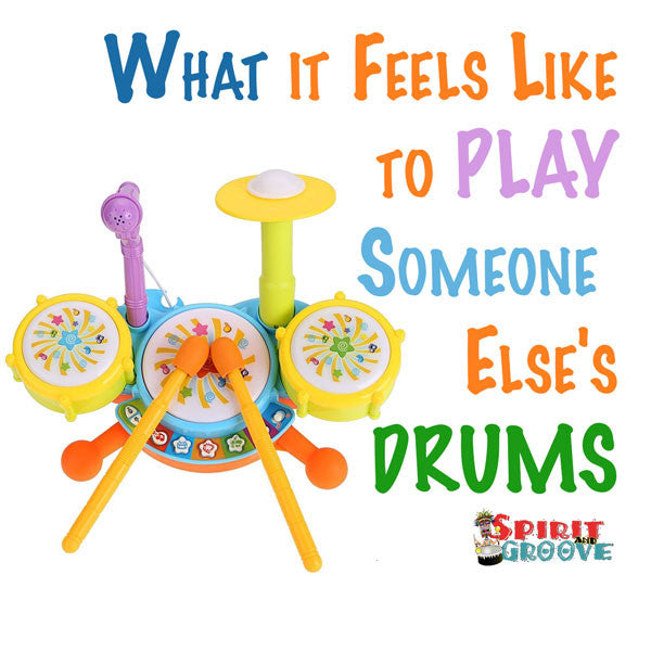 Spirit and Groove Drum Meme Monday - Playing Someone Elese's Kit