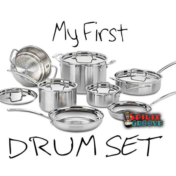 My First Drumset Meme by Spirit and Groove