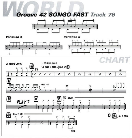 Tommy Igoe Groove Essentials Songo Sample