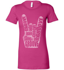 Ladies Groove Horns Line (Tees and Tanks) - Spirit and Groove, LLC