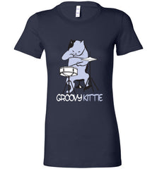 Ladies Groovy Kittie Line (Tees and Tanks) - Spirit and Groove, LLC