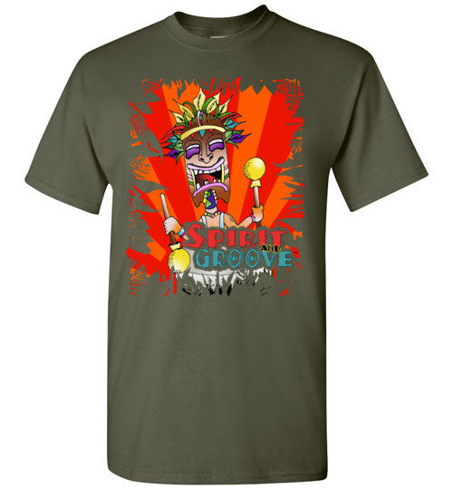 Official Spirit and Groove Drum Tee – Available in Multiple Colors - Spirit and Groove, LLC