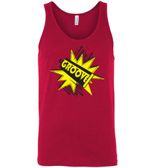Groovy Cowbell Power Line for Everyone (Men's and Ladies' Tees and Tanks) - Spirit and Groove, LLC