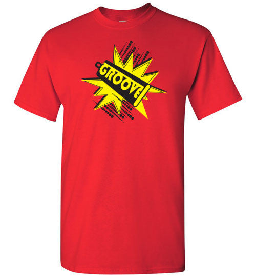 Groovy Cowbell Power Line for Everyone (Men's and Ladies' Tees and Tanks)