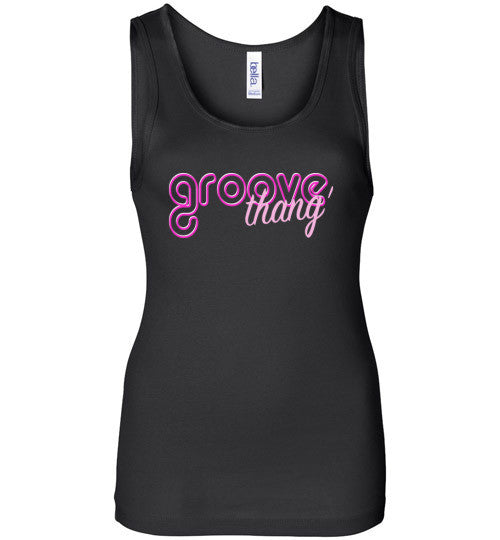 Ladies Groove Thang' Line (Tees and Tanks) - Spirit and Groove, LLC