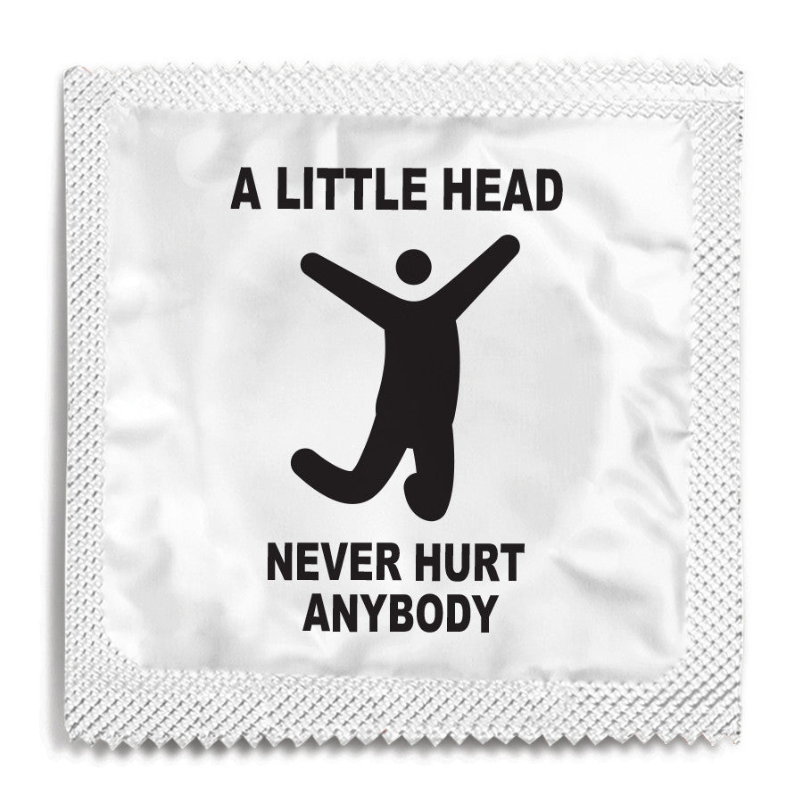 A Little Head Never Hurt Anybody Condom - 10 Condoms