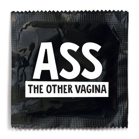Ass The Other Vagina Condom - 10 Condoms