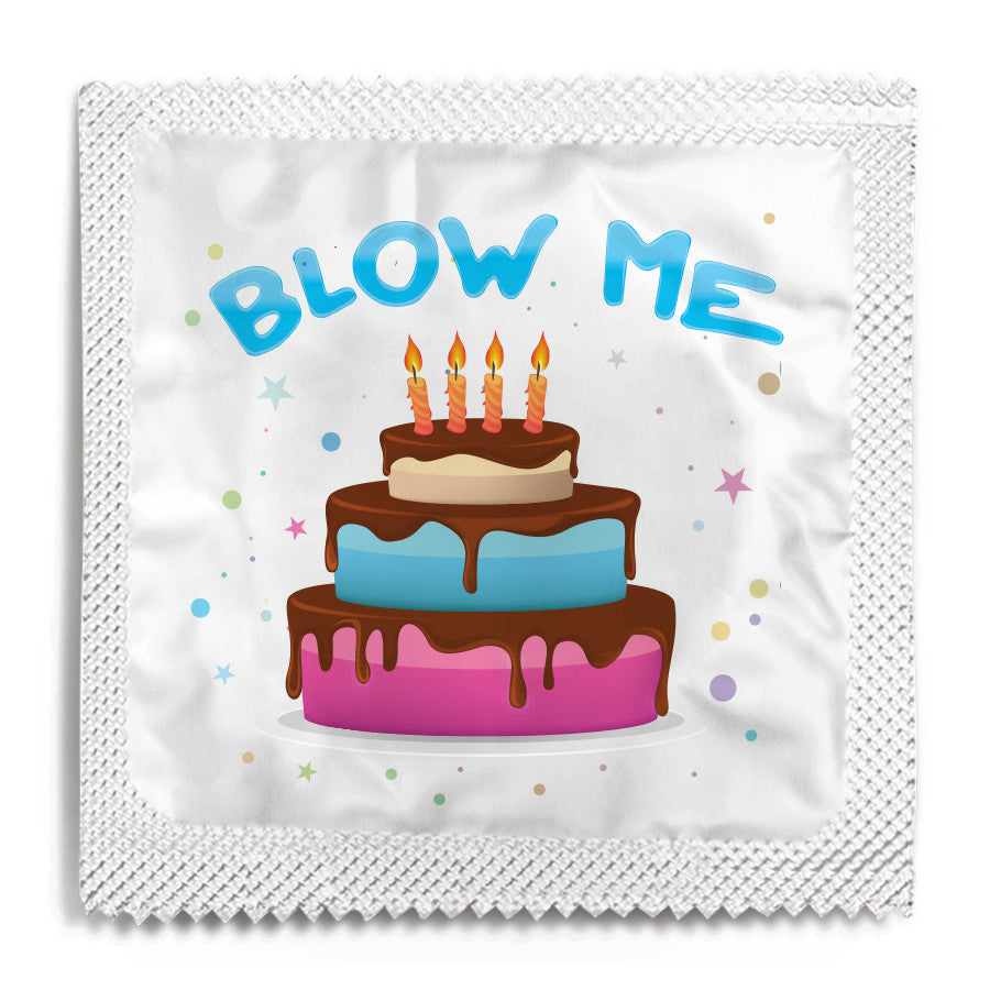 Blow Me Condom - 10 Condoms