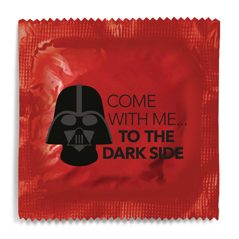 Come With Me To The Dark Side Condom - 10 Condoms
