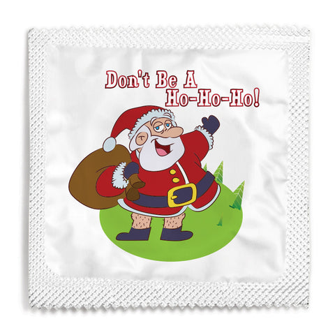 Don't Be A Ho Ho Ho Condom - 10 Condoms