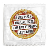 I Like Pizza Condom - 10 Condoms
