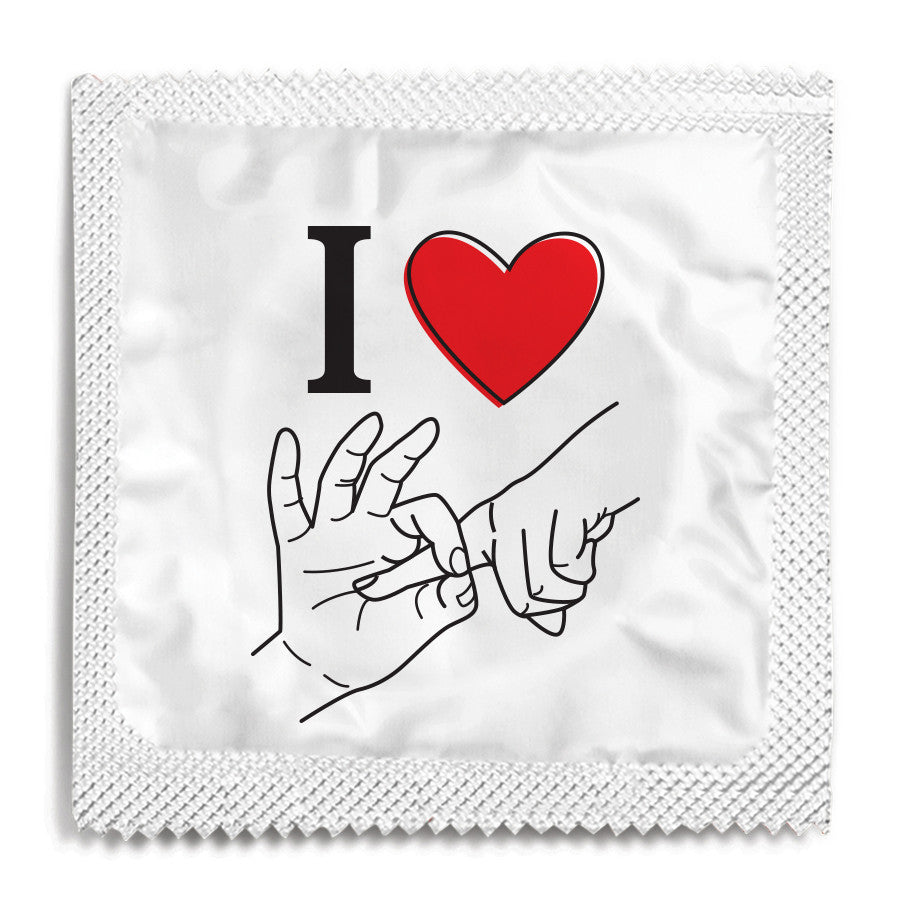 I Love Fucking You Condom