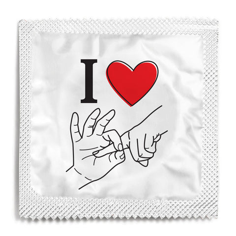 I Love Fucking You Condom - 10 Condoms