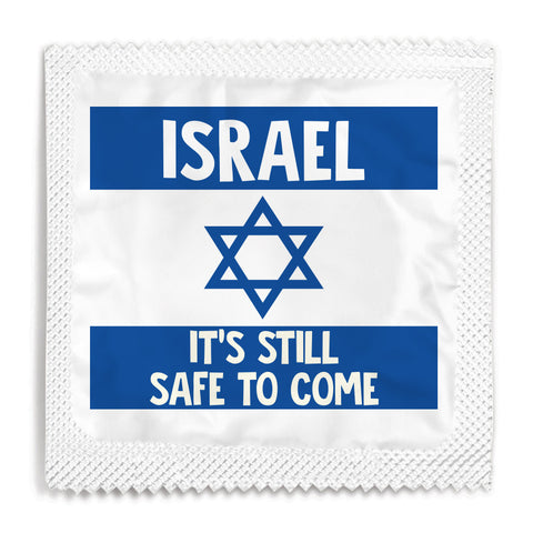 Israel, It's Still Safe To Come Condom